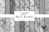 Silver Art Deco Digital Paper example image 1