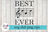 Best Dad Ever Music Lover SVG Cutting Files example image 1