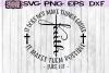 FAITH - LUKE 1 37 - CROSS - SVG PNG DXF EPS example image 2