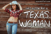 Texas Woman example image 1
