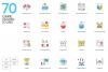 1266 Icons - colorPOP Vector Bundle example image 10