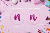 Gummy gum - script and cartoon font example image 4