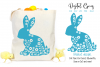 Rabbit, Easter SVG / DXF / EPS / PNG files example image 1