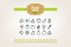 Hand Drawn Food Icons example image 1