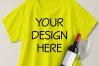 Boxy Crop Top T-shirt Mockups - 4 example image 4