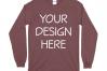 Gildan 5400 Long Sleeve Tshirt Mockups-16 example image 9