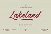 Lakeland Brush font example image 1