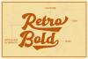 Gantry - retro bold script font example image 5