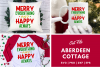 Merry Everything Happy Always SVG | PNG | DXF | EPS example image 1