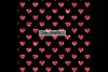100 Seamless Black and Glitter Heart Valentine Digital Paper example image 11