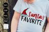 Santa's Favorite CHRISTMAS SVG File, DXF file, PNG file example image 1