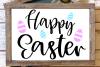 happy easter svg, easter egg svg, easter decor svg example image 4