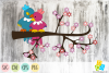 Two Love Birds SVG, DXF, EPS and PNG files example image 1