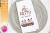I Like Pig Butts I Cannot Lie Pig Design - Printable Design example image 1