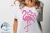 Flockin' Fabulous Flamingo Mandala SVG Cut File example image 2