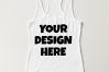 Ladies Tank Top Mockups - 20|Front/Back|PNG example image 20