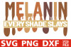 Melanin every shade slays svg, Black Queen svg, Black woman example image 1
