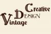 Tatianna   Vintage Font Family example image 5