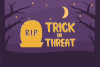 Spooky Booah! Font Display example image 4