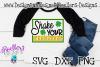 St Patrick's Day SVG, Shake your Shamrocks svg, Shamrock Svg example image 1