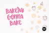 BERRY PASTRY a Hand Lettered Brush Script Font example image 6