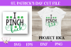 St. Patrick's Day SVG - I Pinch Back example image 1