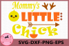 Mommy's Little Chick svg, Chick svg, Baby svg, Little Chick example image 1