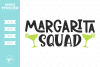 Margarita Squad SVG DXF EPS PNG example image 1