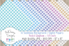 48 seamless Digital Papers - Pastel Gingham serie - DB001 example image 4