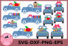 School Truck svg, School Svg, Apple Svg, Truck Svg example image 1