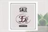GRUNGE Social media sale banner pack example image 3