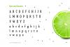 Limes—handmade fontfamily example image 5