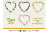 FLORAL MEGA BUNDLE 30 wreath, laurel, heart leaf frames SVG example image 8