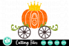 Pumpkin Carriage - A Fall SVG Cut File example image 1