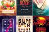 15 SUMMER Flyer Templates Bundle example image 3