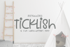 Ticklish - A Fun Hand-Written Font example image 1