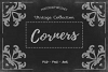 20 Corner Designs PSD - ABR - PNG example image 2