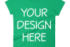 Anvil 880 Ladies Fit T-Shirt Mockups - 17 | PNG|3000x3000px example image 7