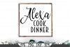 Alexa Cook Dinner SVG example image 1