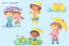 April Showers Clip Art Collection example image 2