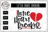 Little Heart Breaker SVG Cut File example image 1