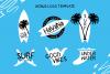 Surf Breaks - Font Family & Bonus example image 9