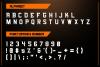 NFC ONRUSH DISPLAY FONT example image 4