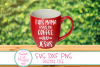 This Mama Runs On Coffee And Jesus SVG ,Mom Life, Jesus SVG example image 2