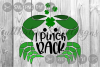 I Pinch Back, Cute Crab, Clovers, St. Patty's, Cut File, SVG example image 1