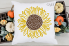 Sunflower designs SVG / PNG / EPS / DXF Files example image 3