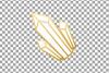 Elegant wedding geometric golden frames, lineal frames png example image 23