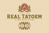 REAL TATOEM FONT example image 6