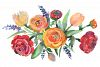 Bouquet floral waltz Watercolor png example image 1