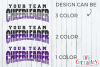 Cheer Template 0040 | SVG Cut File example image 3